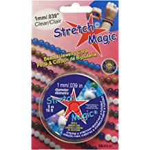 Cord 1mmx100m Clear 100m Pepperell Stretch Magic 1mm Bead And Jewelry Cord