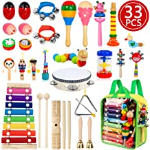 Maracas Wooden Egg for Easter Basket Stuffers Percussion Musical Egg Shakers Kids Toys Kidtion 8Pcs Easter Eggs