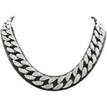 ITI Precious Genuine 925 Sterling Silver Medium Flat Curb Chain in Solid 925 Silver 16, 18,20, 24, 26 or 30 inches available 1.50mm-11.00mm