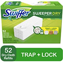 JKLAQOP Sweeper Wet Mopping Cloth Refill Open Window Fresh 2 Pack 24 ct
