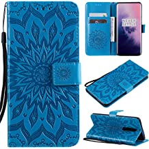 Amocase Wallet Leather Case with 2 in 1 Stylus for Samsung Galaxy A70,Premium Slim Cute 3D Painting Shockproof Magnetic PU Leather Card Slot Stand Case Peach Blossom