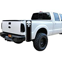 Punisher Skull Window Decal Distres Texas Flag Vinyl Graphic Military Dodge Ford