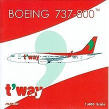 Phoenix Model PHX04285 1:400 Korean Air Boeing 737-900ER Reg #HL8221 pre-Painted//pre-Built
