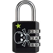 Master lock Luggage Lock Kiss Design Padlock Keyed Black 3430EURDKISS Pink