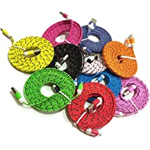Colorful Assorted Rainbow Protective Cable Saver Adapter Compatible with Apple iPhone//iPad//iWatch Samsung Galaxy /& MacBook USB Charging Cords Josi Minea x7 Pcs Cable Protector 7 Pack