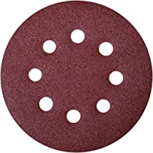 POWERTEC 4R13510-50 100 Grit A//O Hook and Loop for RTS 400//LS 130 Sander Pad 50 Pack