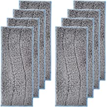 Secura 2 Pack Microfiber Mop Pads White Replacement Washable Cleaning Pads for EM-516