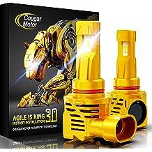 Dr.Roc 9005 LED Headlight Bulbs 9005//HB3//H10 LED Headlights Conversion Kit 6500K Cool White 6000k Cool White fanless