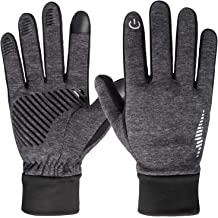 Rhsia Touch Screen Gloves Warm Winter Gloves Thermal Windproof Liners for Women Men Teenager Running Gloves