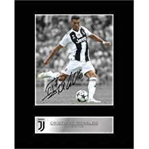 Cristiano Ronaldo Signed Mounted Photo Display Juventus FC #2 Autographed Gift Picture Print