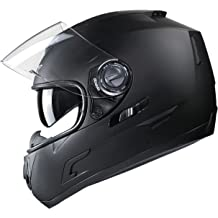 13d7cef9 GLX GX-15 Full Face Motorcycle Helmet,Dual Visor Adults Street Bike Helmets  for .