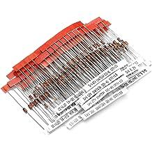 HUABAN 34Value x 20PCS 0.5W DO35 Zener Diode 2.0V 2.2V 2.4V 2.7V 3.0V 3.3V 3.6V 3.9V 4.3V 4.7V 5.1V 5.6V 6.2V 6.8V 7.5V 8.2V 9.1V 10V 11V 12V 13V 15V 16V 18V 20V 22V 24V 27V 30V 33V 36V 39V 43V 47V