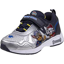 JOSMO Paw Patrol Light Up Sneakers with Velcro Strap for Toddler Boys