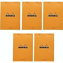 Ice NEW R119181 Graph Notebook 6 x 8.25 Inches Rhodia Staplebound