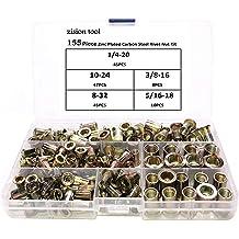 zision tool 1//4-20 rivet nut tool replacement mandrel and 30pcs rivet nut set