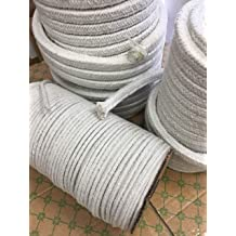 KT Refractories CF3-PLY Rope 500ftX3//8 Diameter.Stainless Alloy Wires