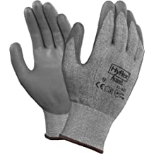 825728 Dark Gray Ansell 11-931-9 Cut Resistant Gloves 1 Pair - Size 9