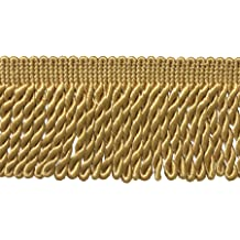 C4 1 1//4 Basic Trim/ Brush Fringe Style# 0150SB Color: Gold Gold Sold by The Yard