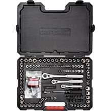 """Craftsman 25 pc piece 3//8/"""" /& 1//4/"""" Drive Socket Wrench Set SAE And Metric 9 10295"""