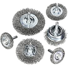 6600 rpm 5//8 x 11 UNC Arbor 6 Diameter Lincoln Electric KH297 Single Row Knotted Cup Brush The Lincoln Electric Company Pack of 1 Pack of 1 6 Diameter 5//8 x 11 UNC Arbor