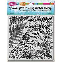 Fern Garden Stamp Stampendous 6CR015 Cling