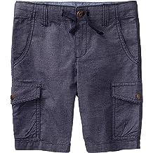 Hajotrawa Boys Fit Cartoon Elastic Waist Denim Jean Shorts